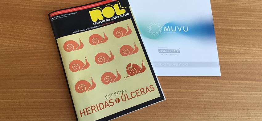 Catálogo MUVU en la revista ROL para el Congreso SEHER