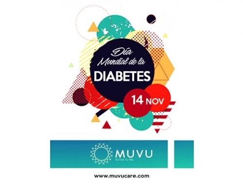 Día mundial de la Diabetes, con MUVU