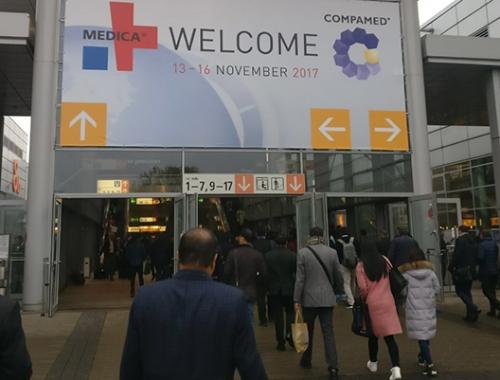 Exitosa presencia de Muvu de Feria Médica en Dusseldorf