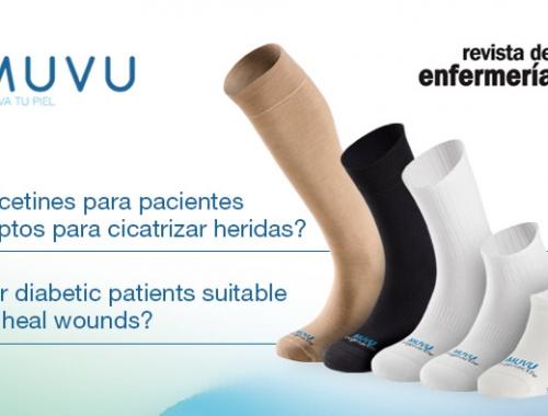 5 casos clínicos con calcetines MUVU en la revista ROL