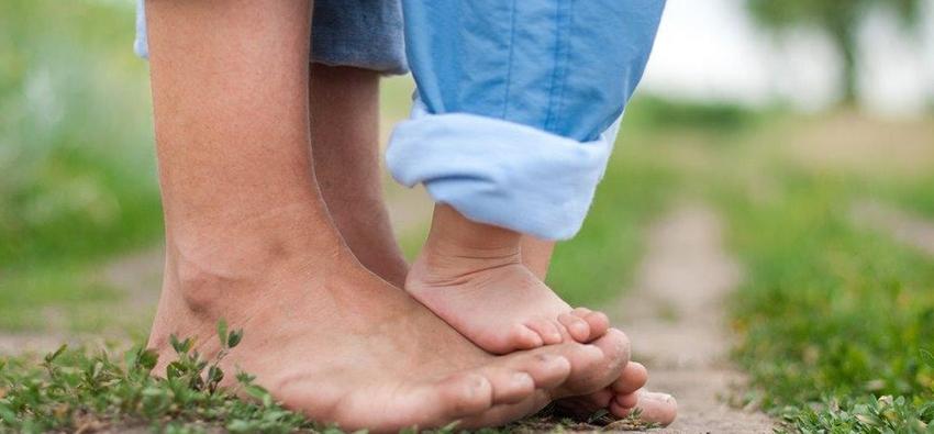 Consejo 5º para pies delicados. ¡Usa tus pies!