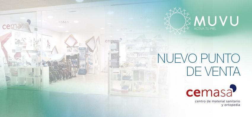 CEMASA, nuevo punto de venta MUVU en Burgos