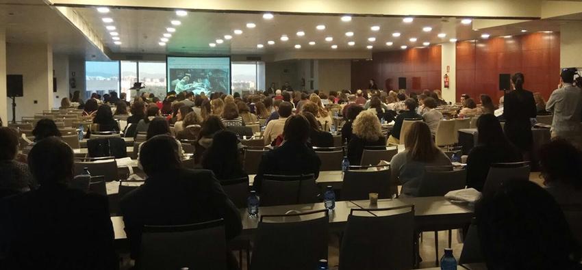 El equipo MUVU, en el Congreso SEHER en Madrid