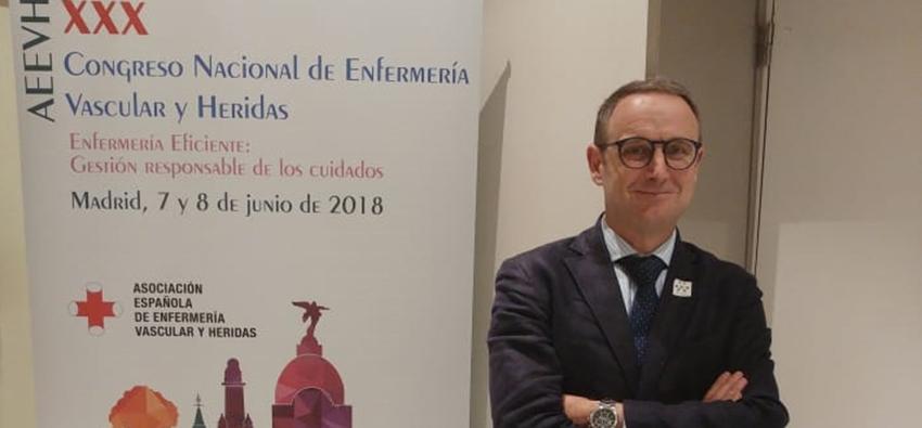 Muvu en el Congreso Nacional de Enfermería Vascular y Heridas de Madrid