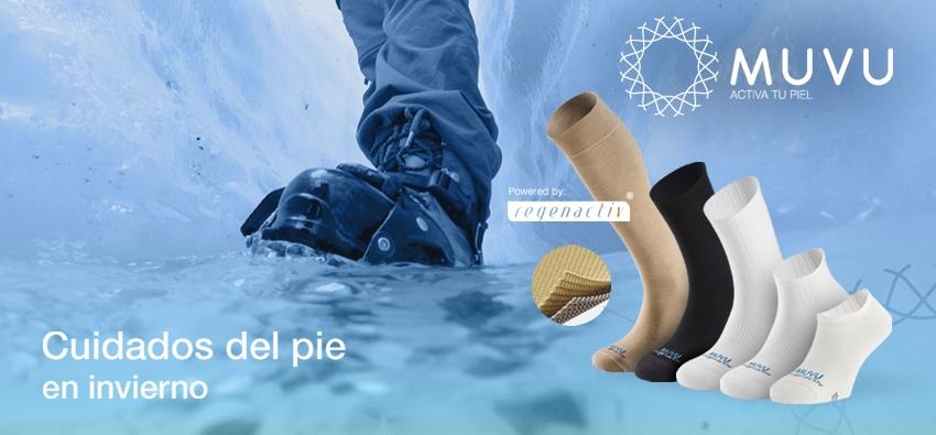 ¿Sabes cómo proteger tus pies del frío?