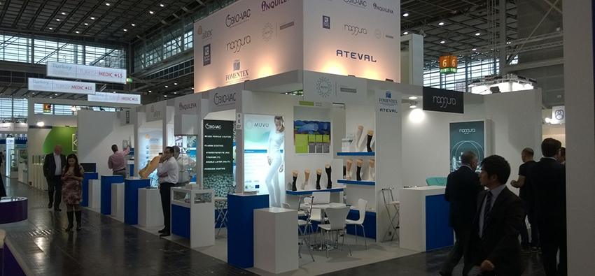 Muvu will launch all its therapeutic garments at MEDICA 2020