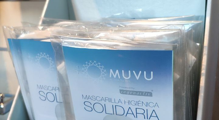 Muvu dona 1.140€ a Casa Caridad Valencia