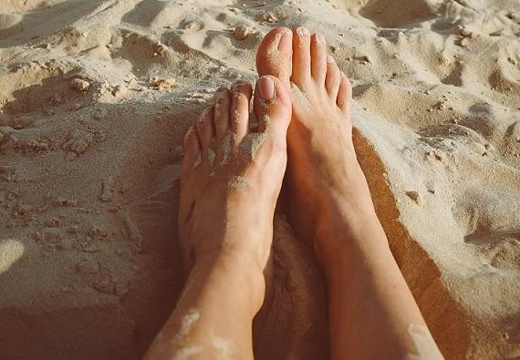 Problemas más comunes de los pies en verano