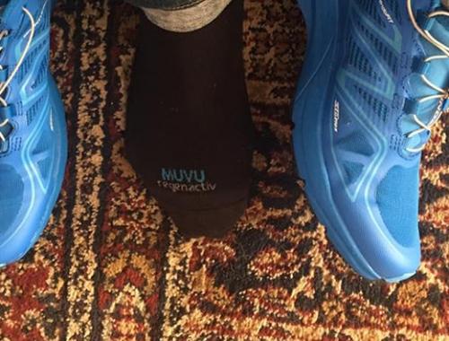 Los calcetines MUVU cuidan las pieles más sensibles