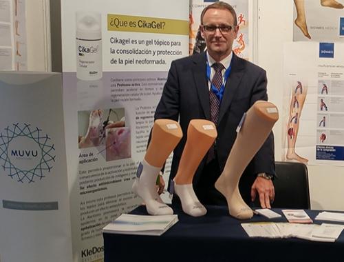 MUVU en el congreso nacional de la Sociedad Española de Angiología y Cirugía Vascular