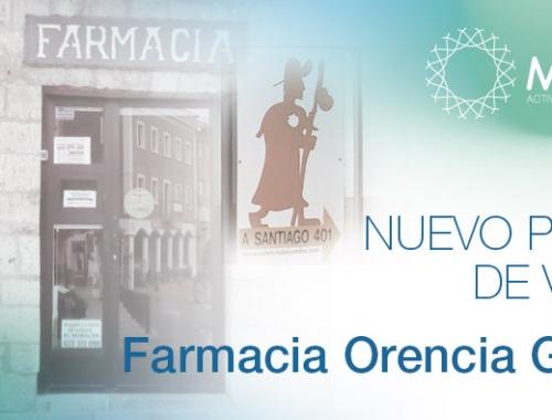 Farmacia Orencia García, Palencia, nuevo punto de venta