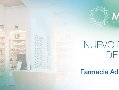 Farmacia Adelia Jordà, Ontinyent, punto de venta MUVU