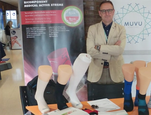 Muvu en la Jornada de Biomecánica y Podología Deportiva