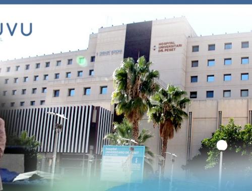 Presentación Muvu ante el equipo de vascular del Hospital Dr. Peset (Valencia)