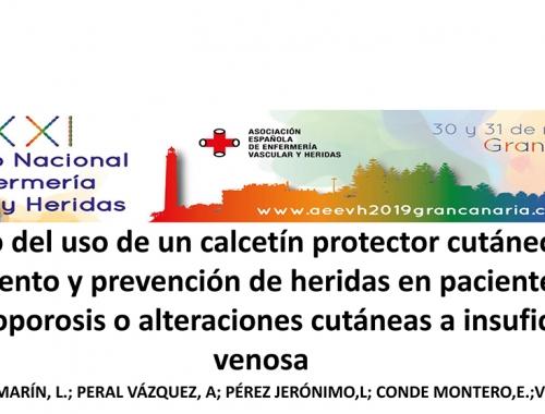 Póster Muvu en el Congreso Nacional de Enfermería Vascular y Heridas