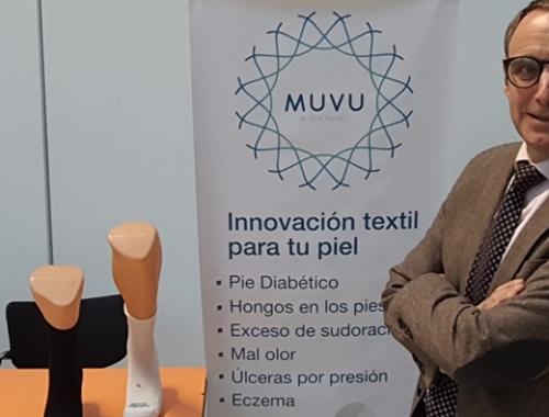 Muvu en diferentes jornadas sobre Podología y Pie Diabético