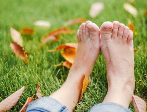 Cuidado de los pies en Otoño